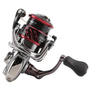 Image 5 - New SHIMANO STRADIC CI4 Spinning Fishing Reel Shallow Spool C2000S C2000HGS 2500S 2500HGS Reel X SHIP HAGANE Body Fishing Tackle