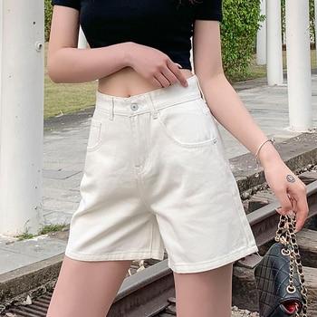 Jean Shorts Women Summer Black Denim Pants Jeans Woman Plus Size Schorts Feminino High Waist Short Jeans Mujer 2020 фото