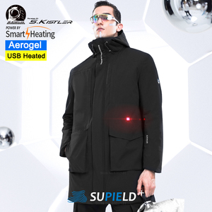 Image 1 - Youpin SUPIELD Aerogel Cold Suit Electric Heated Clothing Cold Resistance Jacket Windproof Waterproof Men Clothes Anti cold Coat