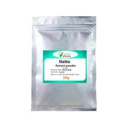 50g-1000g haute qualité organique Natto extrait poudre, Natto Kinase Enzymes 5000fu/g, livraison gratuite