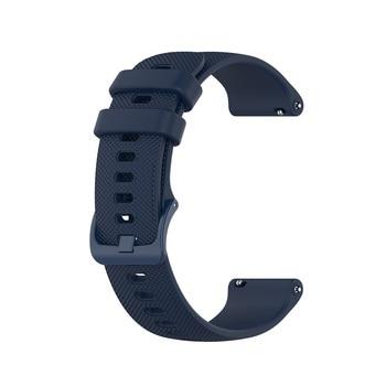 18 20 22mm Sport Silicone Wrist Strap For Garmin Vivoactive 4S 4 3 Smart Watch Band For Vivoactive 3 4 4S Wristband Accessories 11