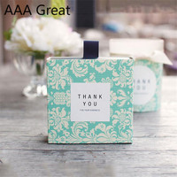 50Pcs/Lot Wedding Decoration Baby Candy Packaging Box Chocolate Party Wedding Gifts For Guests Christmas Decorations Present Box