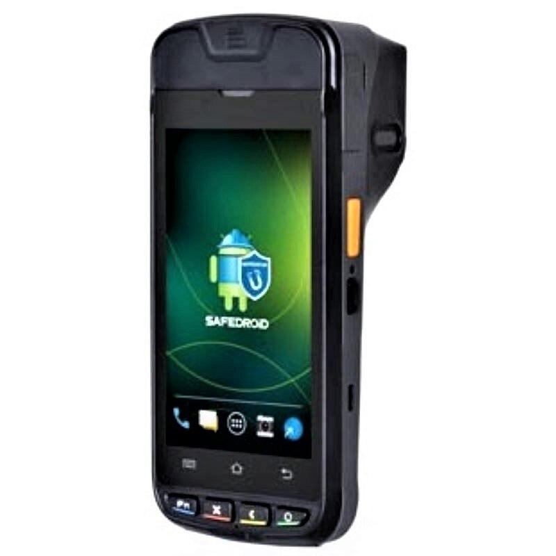 Urovo i9000S PDA прочный мобильный сканер с 4G WIFI NFC принтер smart POS платежный терминал