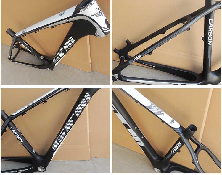 Dernière marque 1120g nouveau cadre en carbone vtt 26er VTT s cadre 17 ''bicicletas VTT 29 livraison gratuite cadre de vélo vtt