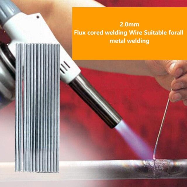 10Pcs 500mm Low Temperature Aluminum Repairing Welding Rod Electrodes Welding Sticks Soldering Supplies Free Shipping