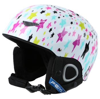 PHMAX Winter dzieci kask narciarski chłopcy oddychający kask snowboardowy wielekolorowy dziewczyny utrzymuj ciepło narciarstwo łyżwiarstwo ochrona głowy tanie i dobre opinie NONE CN (pochodzenie) Dla dziecka 8 lat 55 cm HXTK-0101 Częściowo osłonięty Skiing Children Ski Helmet Universal
