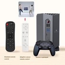 A95X MAX Plus Gaming TV Box Android 9.0 Amlogic S922X 4GB RAM/64GB ROM 1000M LAN Media Player with Gamepad 2.4G Remote Control