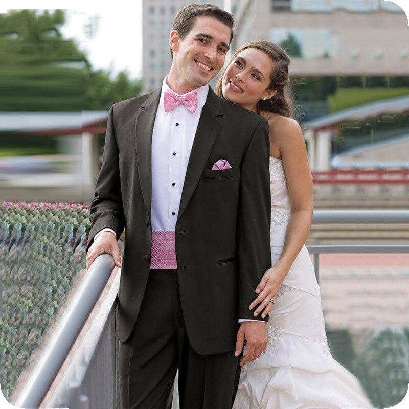 Men Suits Wedding Suits Bridegroom Groomsmen Groom Wear Tuxedo Best Man Blazer Prom Slim Fit Formal 2piece Terno Masculino