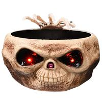 Halloween Candy Bowl Control Induction Ghost Hand Fruit Holder Skull Growing Ornaments For Halloween Decoration