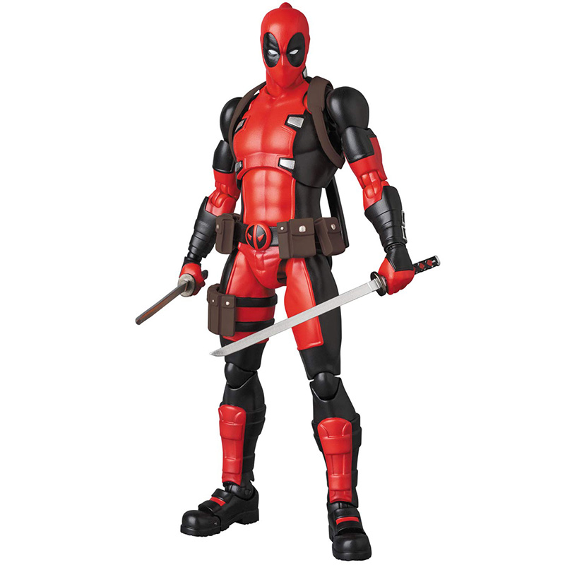 Anime Mafex No 082 X-Men Deadpool Gurihiru Art Ver Action PVC Figure New Loose