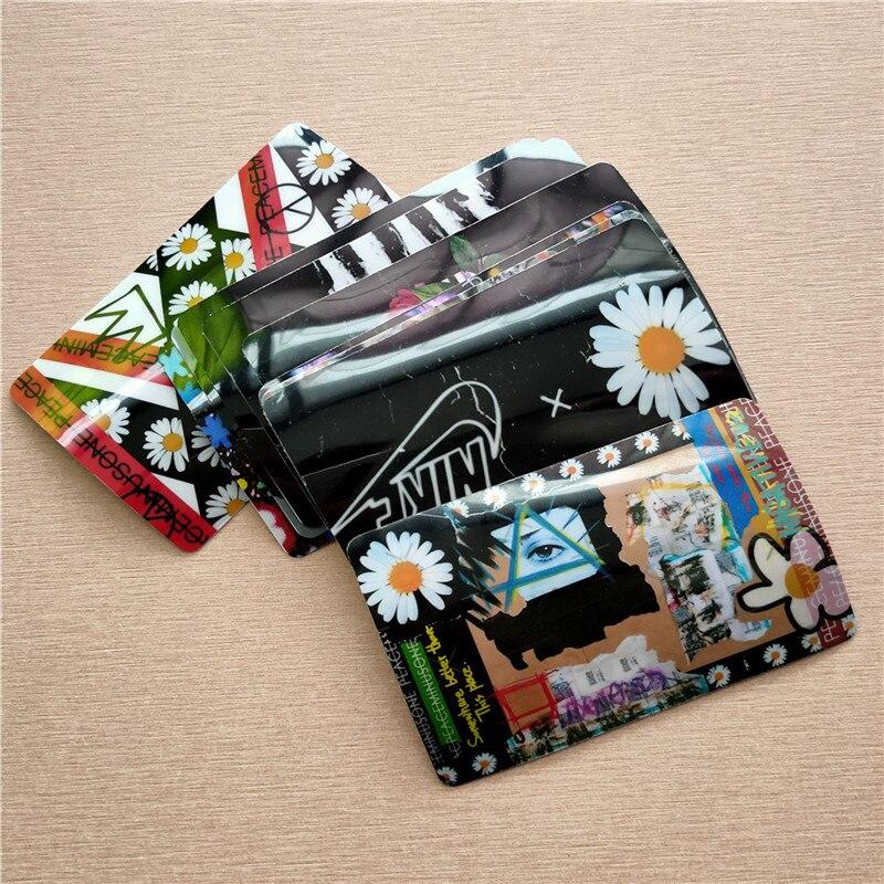 10PCS/SET KPOP G-Dragon Peaceminusone LOMO  Sticker Card Bus Card Sticker