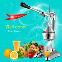 Stainless steel manual juicer commercial hotel kitchen tool juicer pomegranate juice orange juice extractor home juicer juicer stainless steel juice making machine orange juice extractor juicer squeezer extractor lemon fruit juicer for commercial