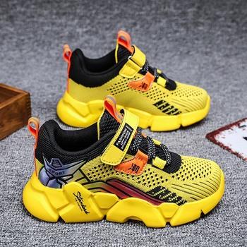 Nowa gorąca wiosna dziecięce tenisowe buty do biegania chłopcy trampki przedszkole studenckie buty chłopiec dorywczo sportowe buty dzieci Zapatillas tanie i dobre opinie aybycy Unisex BUTY TURYSTYCZNE CN (pochodzenie) Siateczka (przepuszczająca powietrze) wszystkie pory roku RUBBER