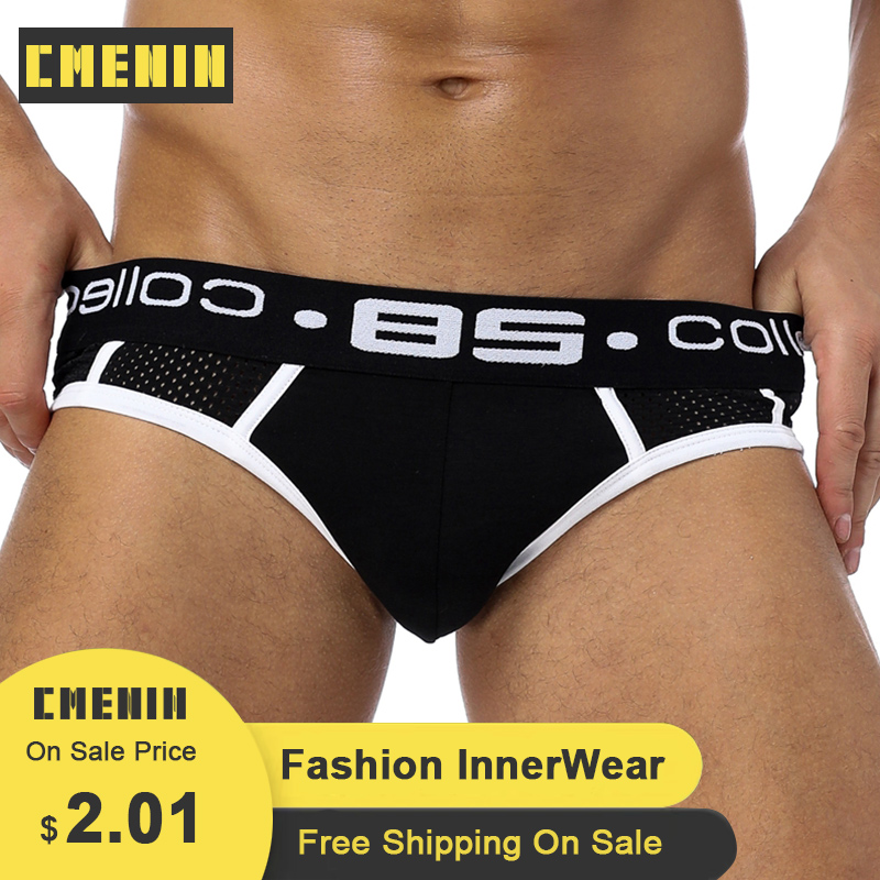 CMENIN Slip 85 Sexy Underwear Men Jockstrap Briefs Men Bikini Gay Male Underpants BS107 Sexi 2020 Jock