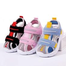 Children Sandals Boys Girls Beach Shoes Soft Lightweight Closed-Toe Outdoor Kids Toddler Sandasl for Baby Shoes Summer