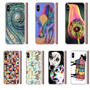 Miękka obudowa etui na telefon Multi kolorowa krowa do Huawei Honor Mate Nova uwaga 20 20s 30 5 5I 5T 6 7I 7C 8A 8X 9X 10 Pro Lite Play