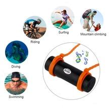 003 Nieuwe 4Gb/8G Fm Radio Muziekspeler Waterdichte IPX8 Onderwater Sport Duiken Zwemmen MP3 Speler