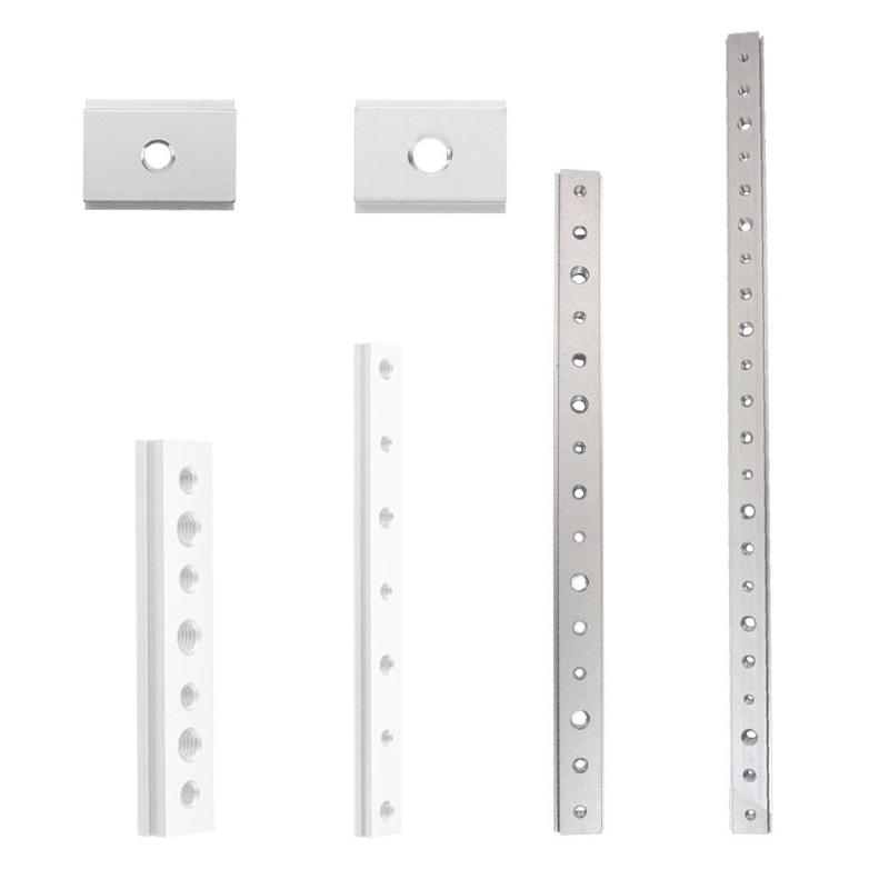 T-track Stop Sliding Brackets Aluminium Alloy Woodworking DIY Auxiliary Rod For T-slot Aluminum Extrusion Connection