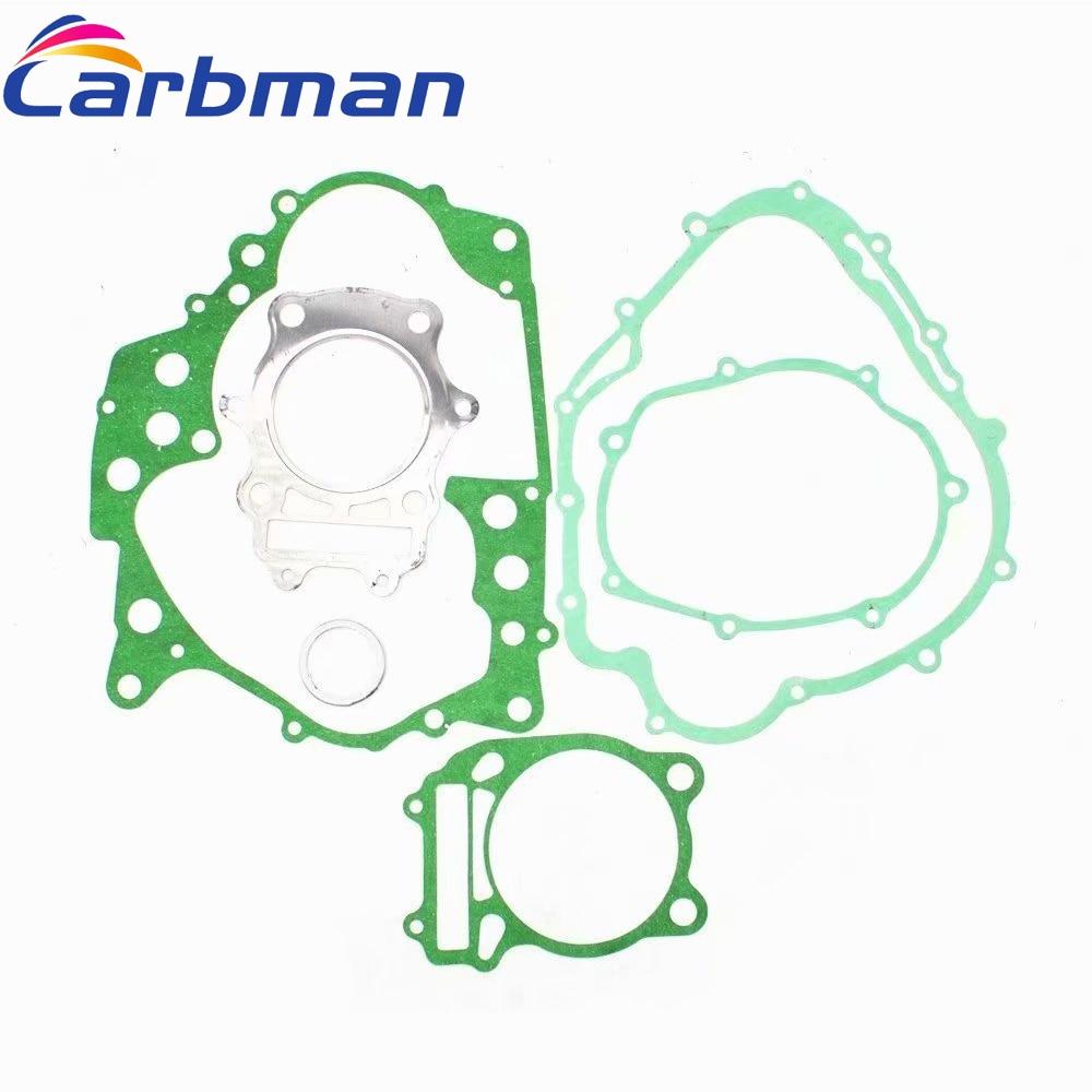 Carbman Complete Engine Gasket Kit for SUZUKI DR 350 DR350 9 GS24 1990-1999 Motorcycle Engine Part