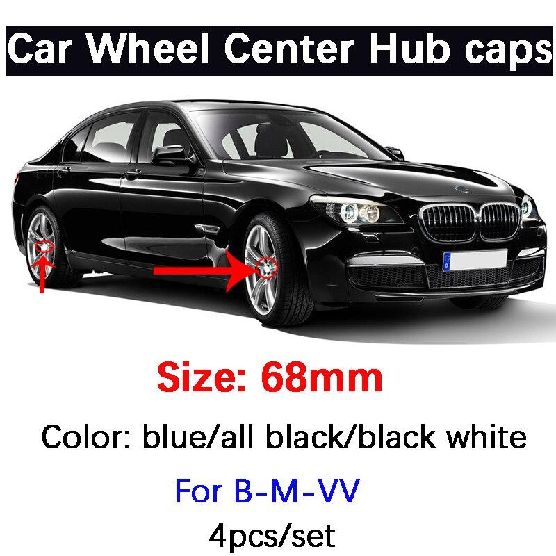 4 шт. 68 мм Центральная втулка колеса автомобиля Кепки s эмблема логотип для BMW E36 E46 E39 E53 E90 E60 E61 E93 E87 X1 X3 X5 X6 м F30 F20 F10 F15