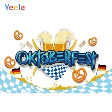 Yeele Oktoberfest Party Photocall Breaks Beer Ins Photography Backdrops Personalized Photographic Backgrounds For Photo Studio