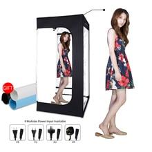 200 Cm X 120 Cm X 100 Cm Dimbare Foto Studio Verlichting Softbox Licht Doos Vouwen Fotografie Achtergrond Schieten Tent kit