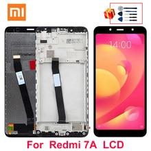 Ensemble écran tactile LCD de remplacement avec châssis, 5.45 pouces, pour Xiaomi Redmi 7A