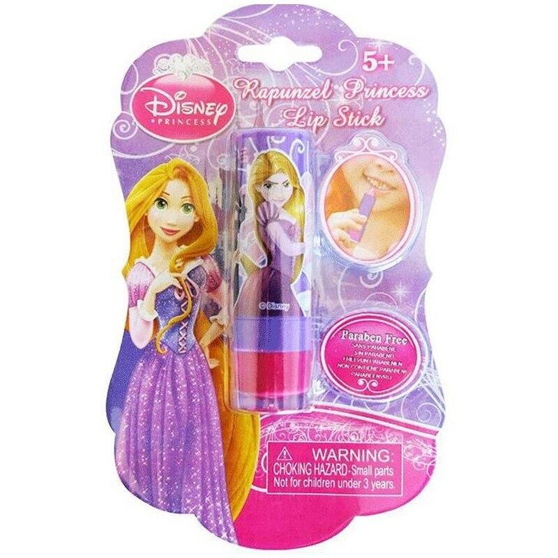 Disney Children's Cosmetics Birthday Gift Light Colour Lipstick Pretend Play Non-toxic Moisturizing Lipstick