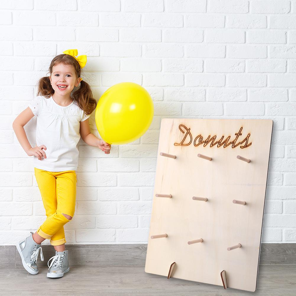 Baking Donut Display Stand Wedding Decor Wide Scope Of Application Daily Durability Kids Birthday Party Dessert Racks