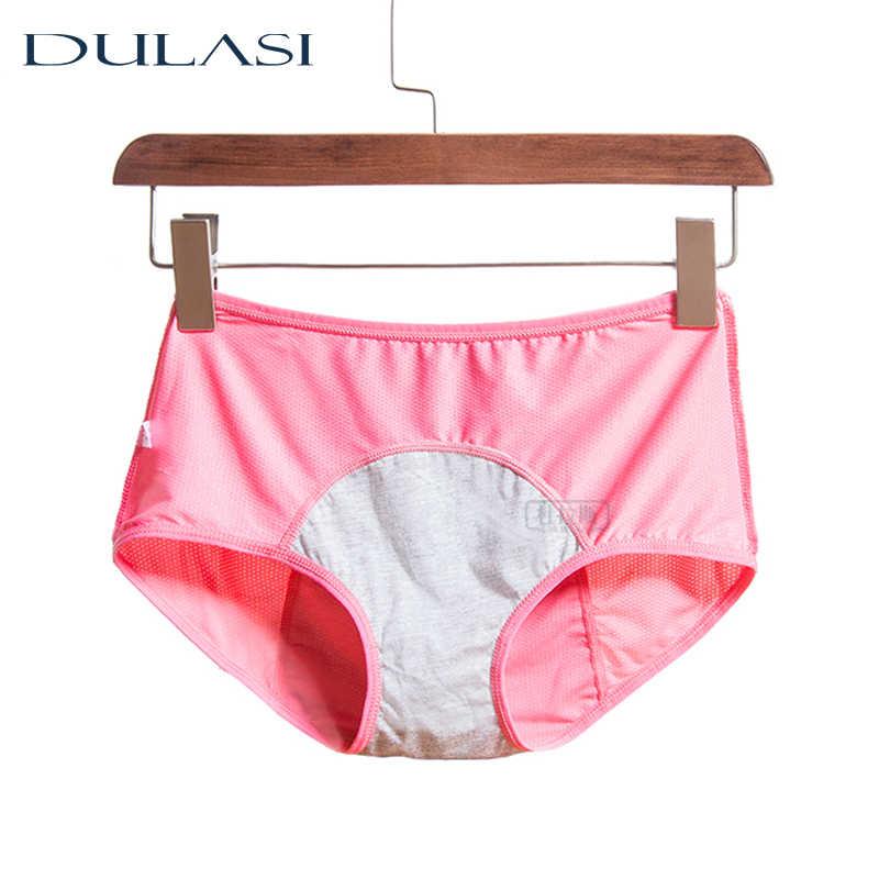 Womens Menstrual Period Leakproof Physiological Pant Panties Briefs-Underwe W2D1
