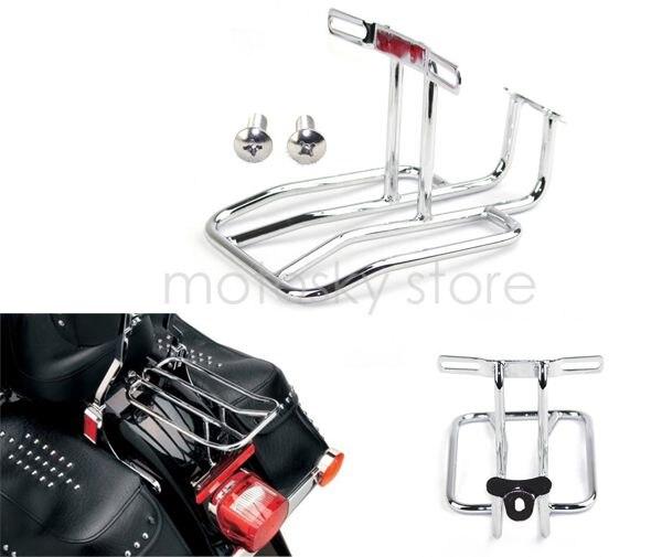 Motorcycle Rear Shelf Frame Rack Luggage Rack Support Shelf Fit For Harley Sportster 883 XL 1200 1100 1000