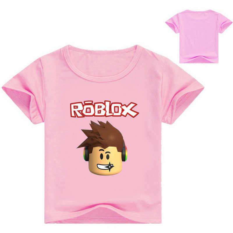 3-16Y Shooting Game T-shirt Kinderen Cartoon Kleding Kids Zomer Casual Kleding Jongens Tshirt Korte Mouwen Baby Meisjes T-shirts