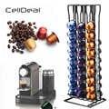 CellDeal практичный держатель для кофейных капсул башня подставка для 60 Nespresso капсулы для хранения Soporte Capsulas полка