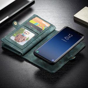 Image 5 - Caseme 고급 가죽 케이스 삼성 갤럭시 S8 S9 S10 S20 Plus A70 A50 A40 참고 10 참고 20 울트라 플립 자석 지갑 전화 커버