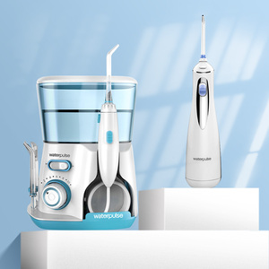 10 Modes Oral Irrigator Family Set Recharging Water Jet Cordless Dental Water Flosser 800ML Hygiene Teeth Cleaner +9 Jet Nozzles