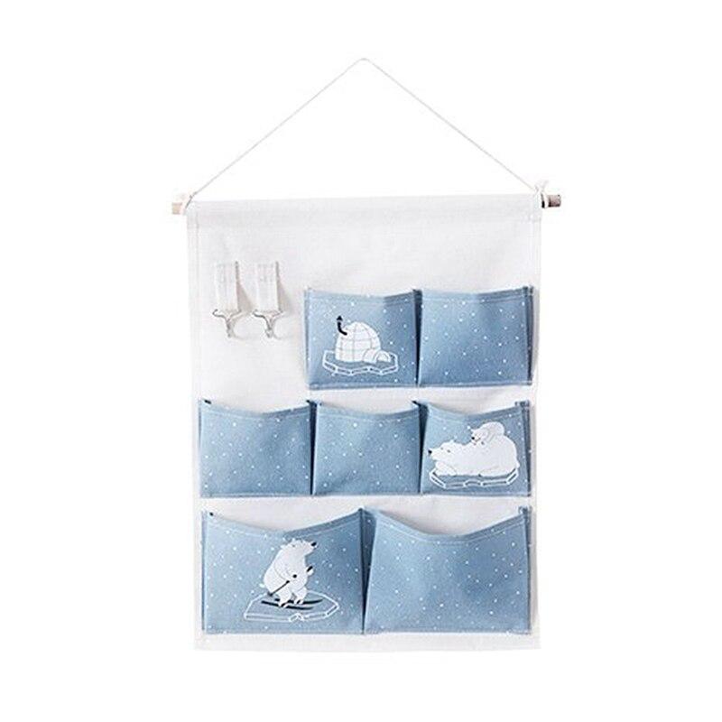Carttoon настенная подвесная сумка для хранения в скандинавском стиле, органайзер для детской кроватки, декор для детской комнаты, детская игрушка, сумка для хранения подгузников, Домашний Органайзер - Цвет: 11