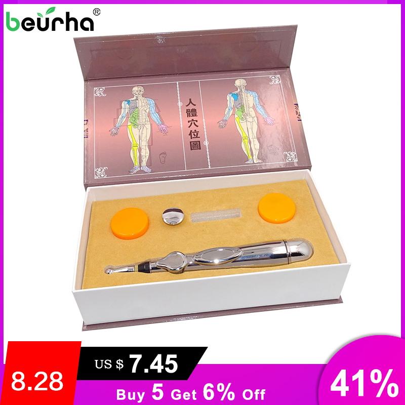 Handled-Tools Therapy-Device Laser-Acupuncture-Pen Gift-Box Energy-Body Chinese