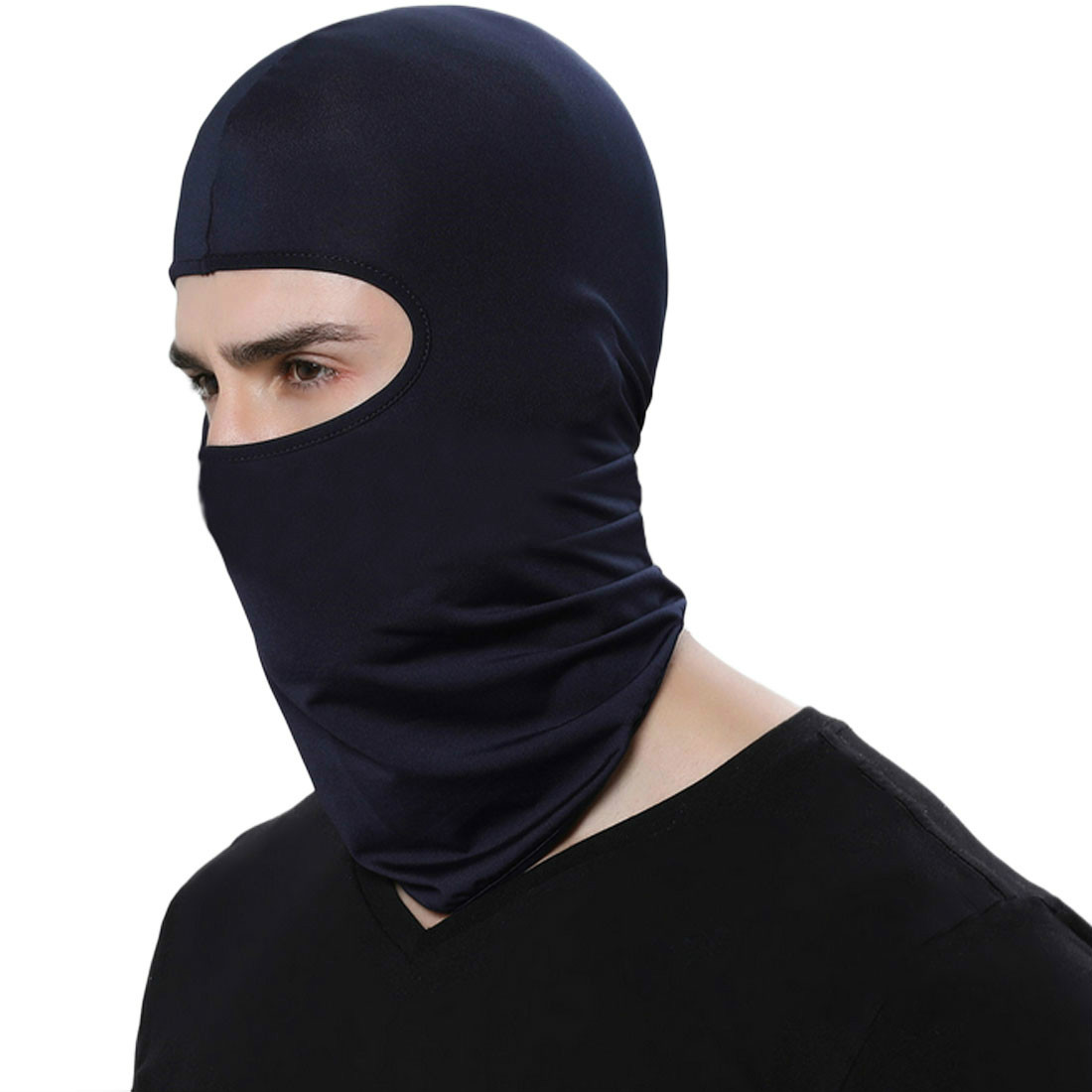 2018 Hot Selling Cycling Face Mask Ski Neck Protecting Outdoor Balaclava Full Face Mask Ultra Thin Breathable Windproof