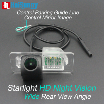 Reverse Back up Camera For BMW X3 F25 X4 F26 X5 X6 E60 E46 E90 E92 Fisheye Lens HD Night Vision No Guiding Line Rear view Camera image