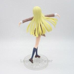 Image 4 - Anime 1/8 échelle peint Figure BanG rêve! Fête des filles! Bonjour Ver du monde heureux. Jouet figurine en PVC Kokoro Tsurumaki 21CM