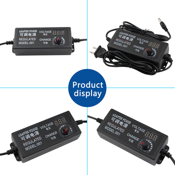 цена на Adjustable Universal Power AC 12V Adapter 2A Supply  AC To DC 3V 9V 12V 24V Power Switching Charger Adatper 220V 12 V 24 V 3A 5A