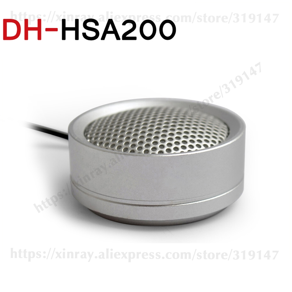 Dahua Audio Pickup DH-HSA200 Hi-fidelity Audio Picker Microphone For Dahua HIKVISION Audio And Alarm Camera HSA200.