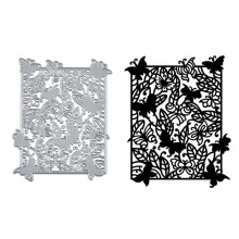 Eastshape Butterfly Frame Metal Cutting Dies Scrapbooking Card Making Album Embossing Crafts Paper Stencil Background Die смеситель jacob delafon salute e76080 cp для мойки кухонной хром