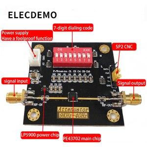 Image 3 - PE43702 module digital RF attenuator module bandwidth 9K~4GHz 0.25dB step accuracy maximum gain 31.75dB