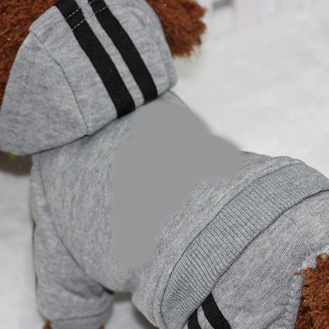 PUOUPUOU Winter Warm Pet Dog Clothes Hoodies Sweatshirt for Small Medium Dogs French Bulldog Sweet Puppy Dog Clothing XS-XXL 16