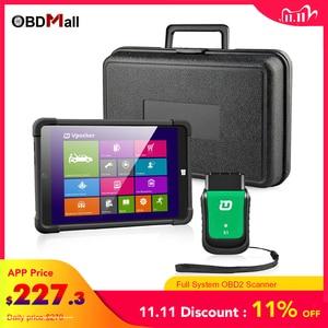 Image 1 - Vpecker OBD2 Wifi All OBD2 Scanner  Easydiag V11.2 sc8in Win10 Vpecker Tablet ODB2 Car Auto Diagnostic Scanner VPECKER EASY DIAG