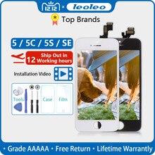 Пожизненная гарантия AAAAA абсолютно ЖК-дисплей для iPhone 5 5G 5S 5C SE 4 ''сенсорный экран дигитайзер сборка+ подарок