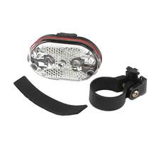 Rowerowa jazda na rowerze 9 migające oświetlenie led nowe błyszczące lampa rowerowa bezpieczeństwo powrót tylne bezpieczeństwo uwaga noc sprzęt kolarski # BL3 tanie tanio ISHOWTIENDA LED Bike Light Sztyca Baterii Bike Taillight Tail Safety Warning icycle Taillights Rear Lamp Bike Light Flash Tail Rear