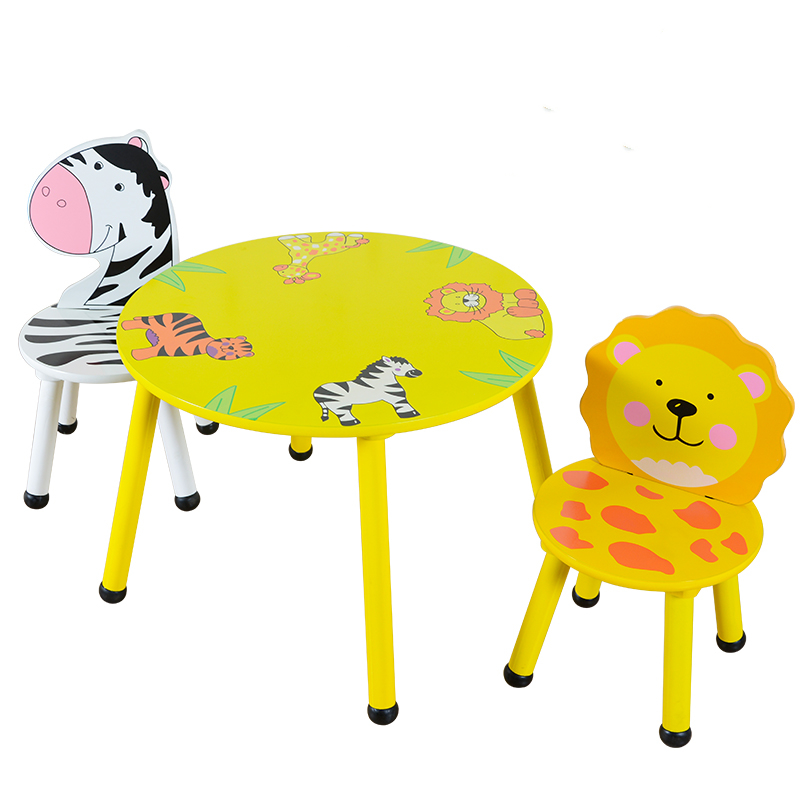 Children's Table And Chair Set Kindergarten Table And Chair Solid Wood Children's Toy Table Game Table Baby Small Table Learning