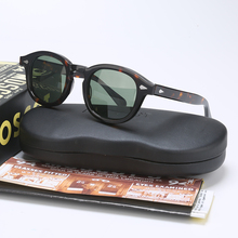 Fashion Johnny Depp Polarized Sunglasses Men Women With Case&Box Luxury Brand Designer Sun Glasses For Male Female Oculos